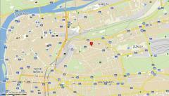 KANOstav - mapa
